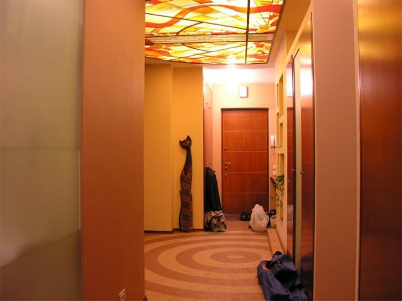 Ремонт коридора в Хрущевке - фото, своими руками 46